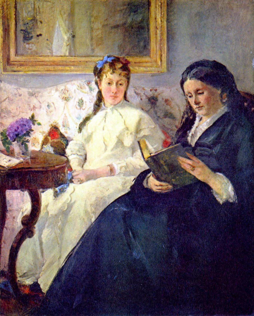 Mother and sister of the artist - Morisot
