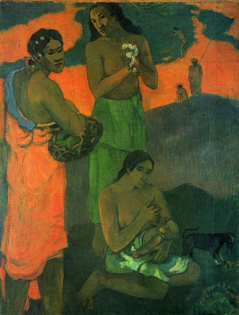 Motherhood - Gauguin