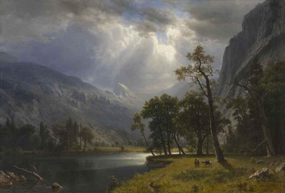 Mount Starr King, Yosemite - Albert Bierstadt