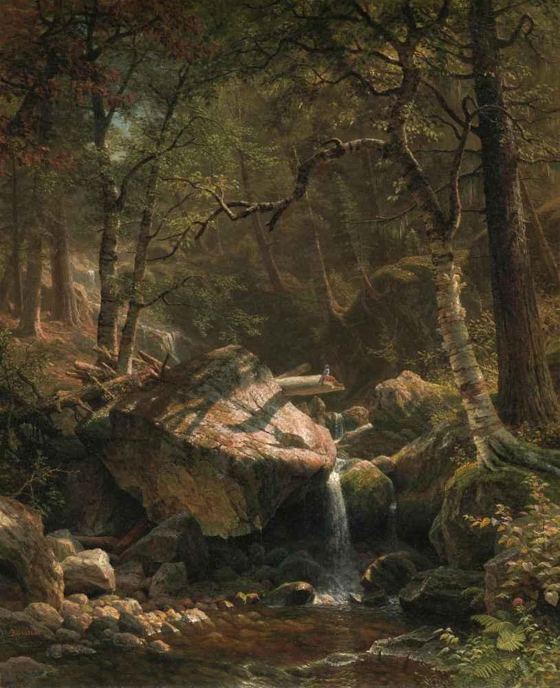 Mountain Brook - Albert Bierstadt