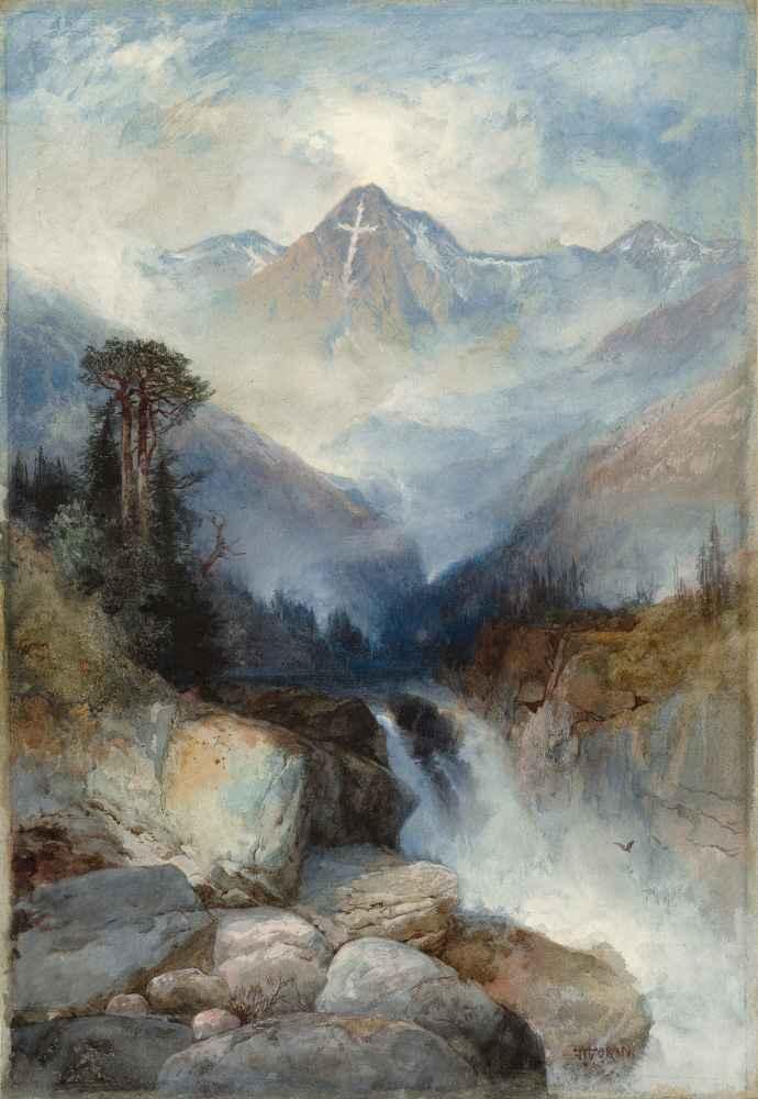 Mountain of the Holy Cross - Thomas Moran