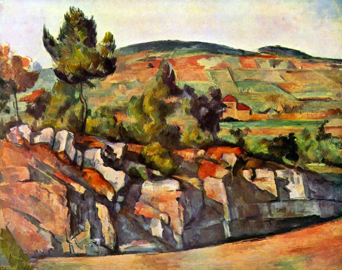 Mountains in Provence - Cezanne
