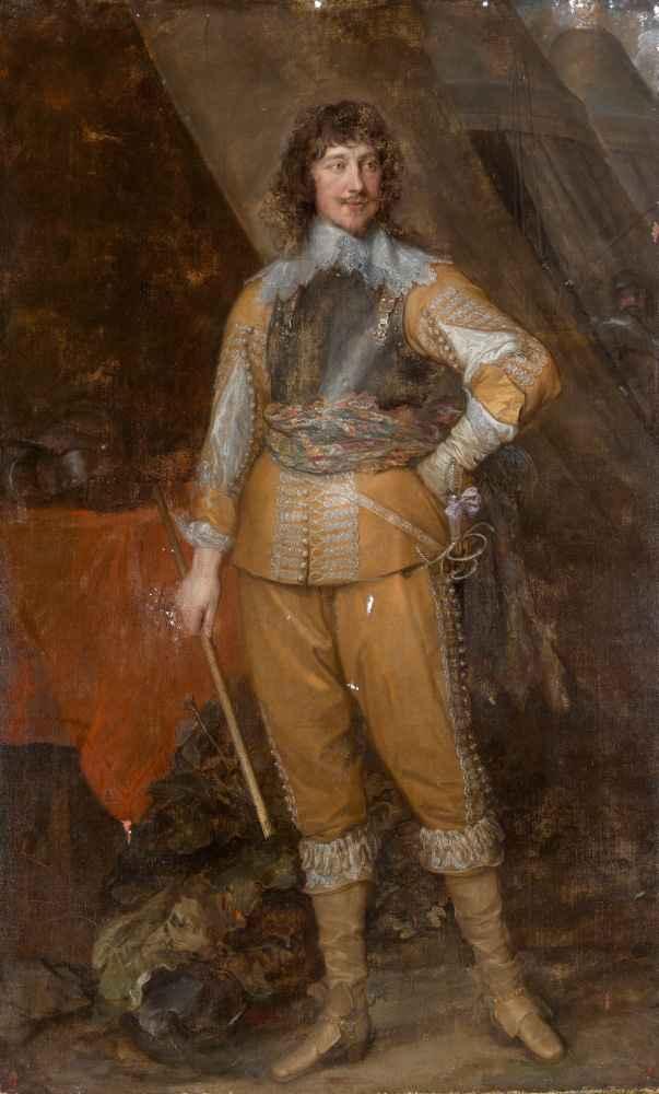 Mountjoy Blount, Earl of Newport - Antoon van Dyck