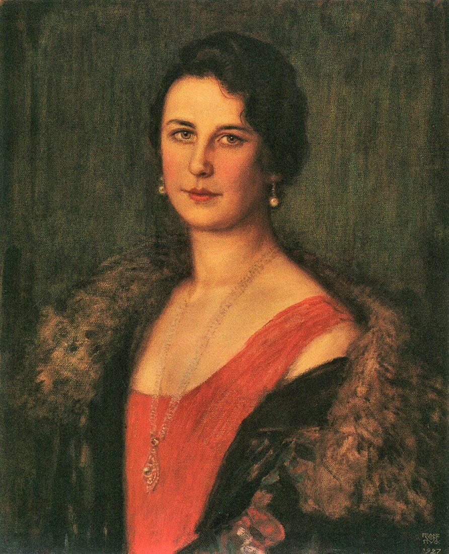 Mrs. Patzak - Franz von Stuck