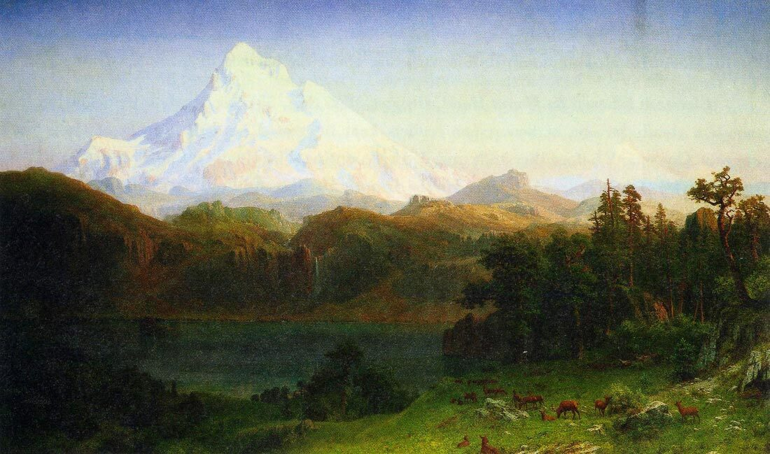 Mt. Hood Oregon - Bierstadt