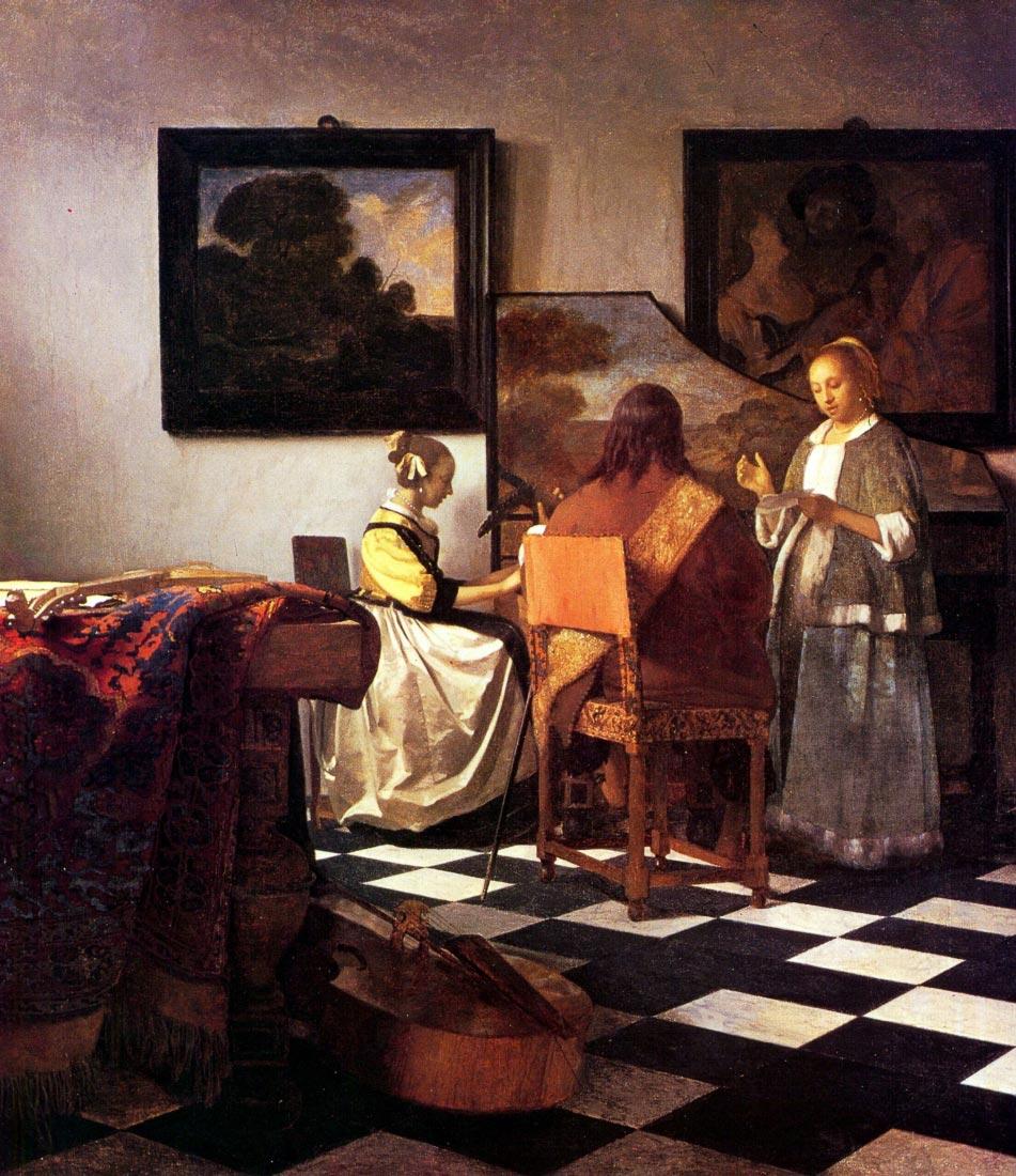 Musical Trio - Vermeer