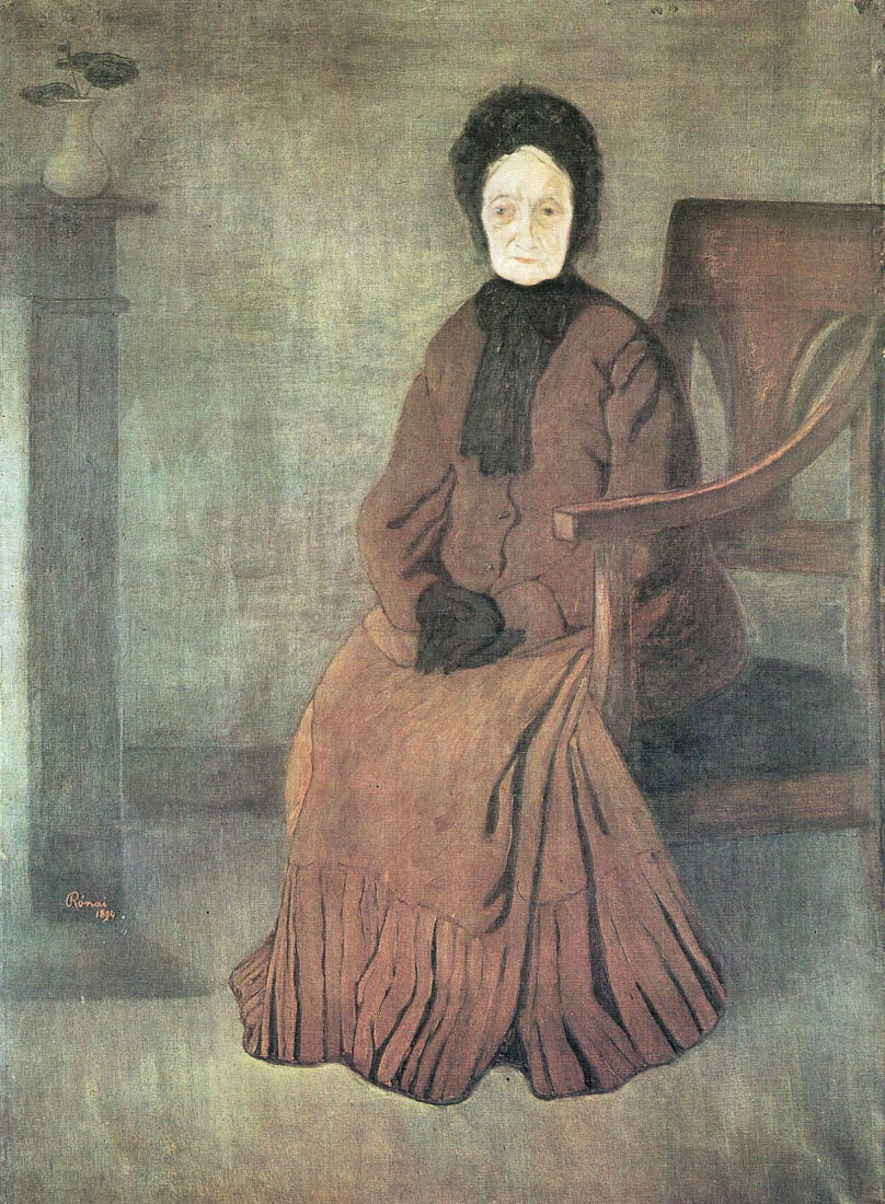 My grandmother - Joseph Rippl-Ronai