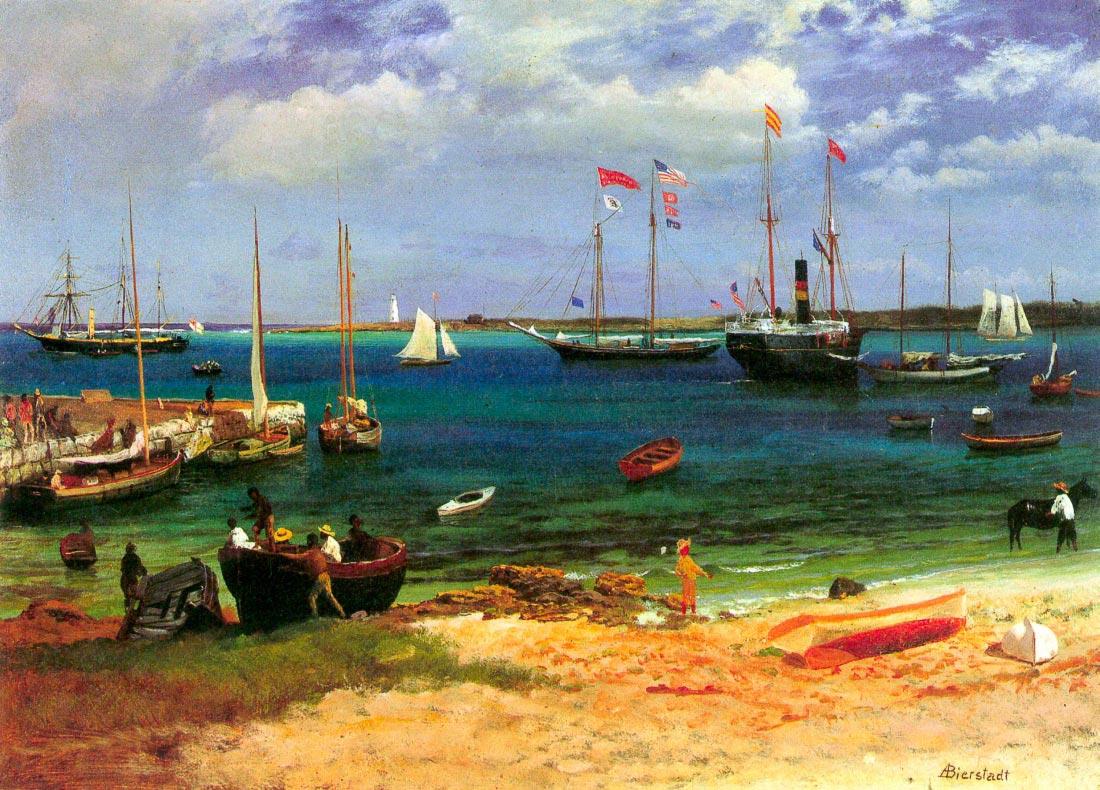Nassau port - Bierstadt