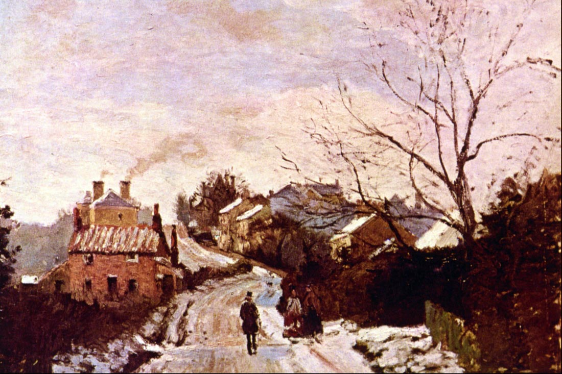 Neige a Lower Norwood - Pissarro