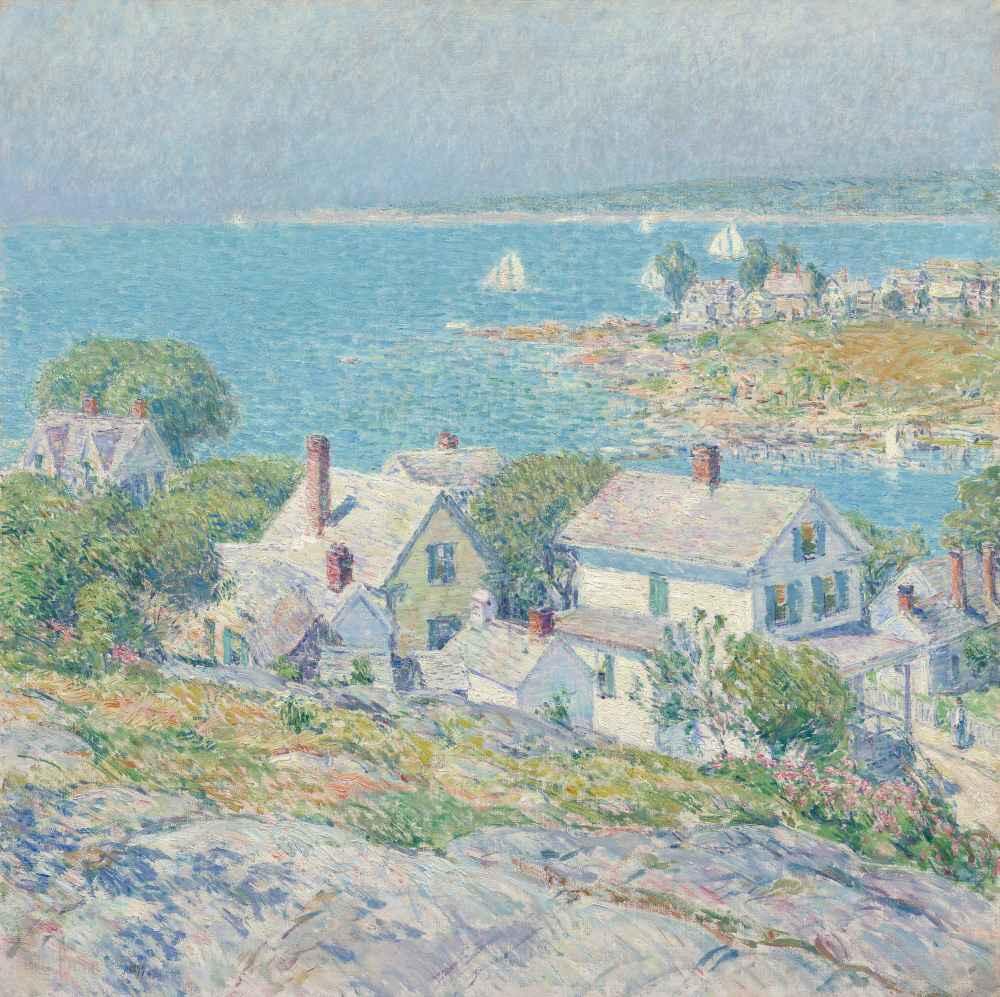 New England Headlands - Childe Hassam