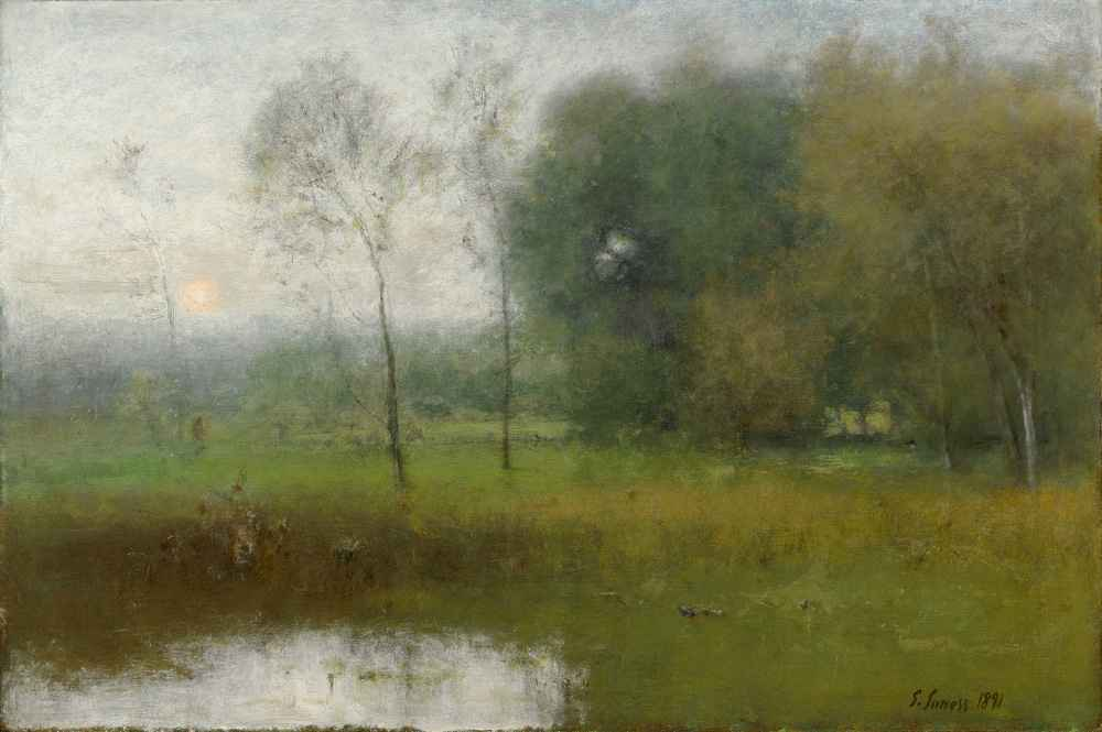 New Jersey Landscape - George Inness