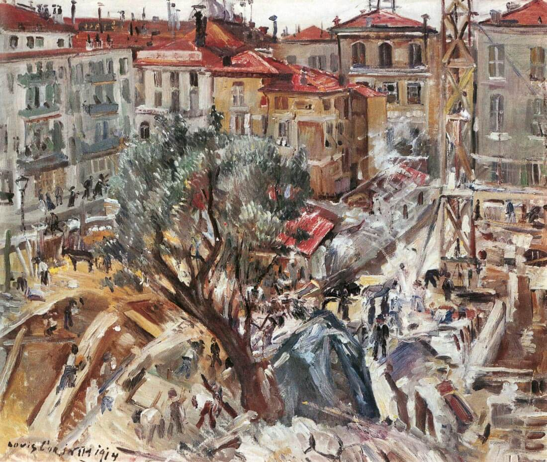 New building in Monte Carlo - Lovis Corinth