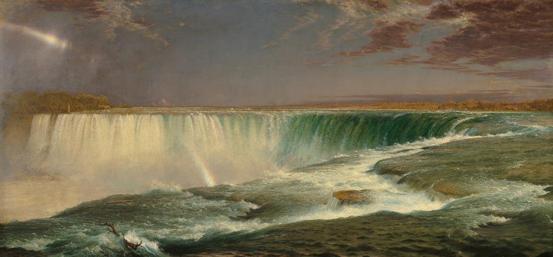 Niagara Falls - Frederick Edwin Church