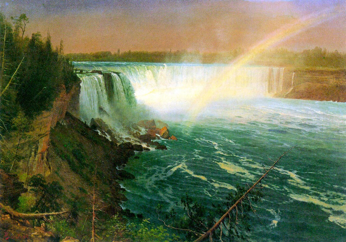 Niagra Falls - Bierstadt