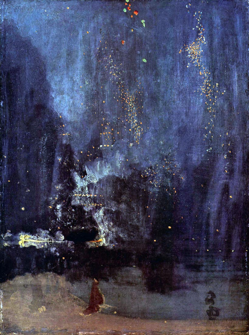 Night in Black and Gold, The falling Rocket - James Abbot McNeill Whis