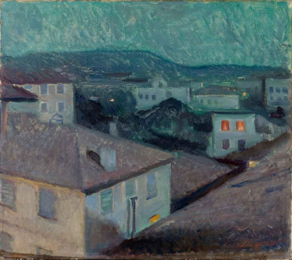 Night in Nice - Edward Munch