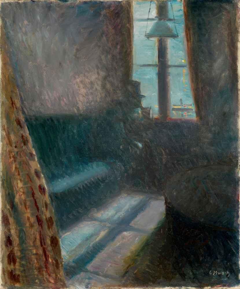 Night in Saint-Cloud - Edward Munch