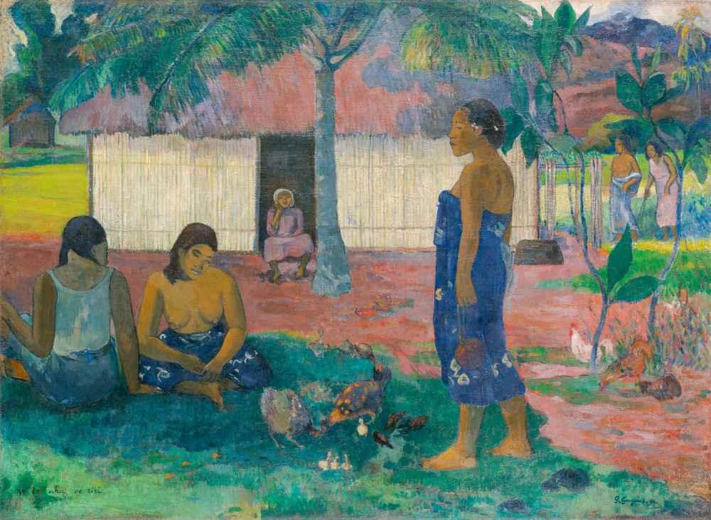 No te aha oe riri (Why Are You Angry) - Paul Gauguin