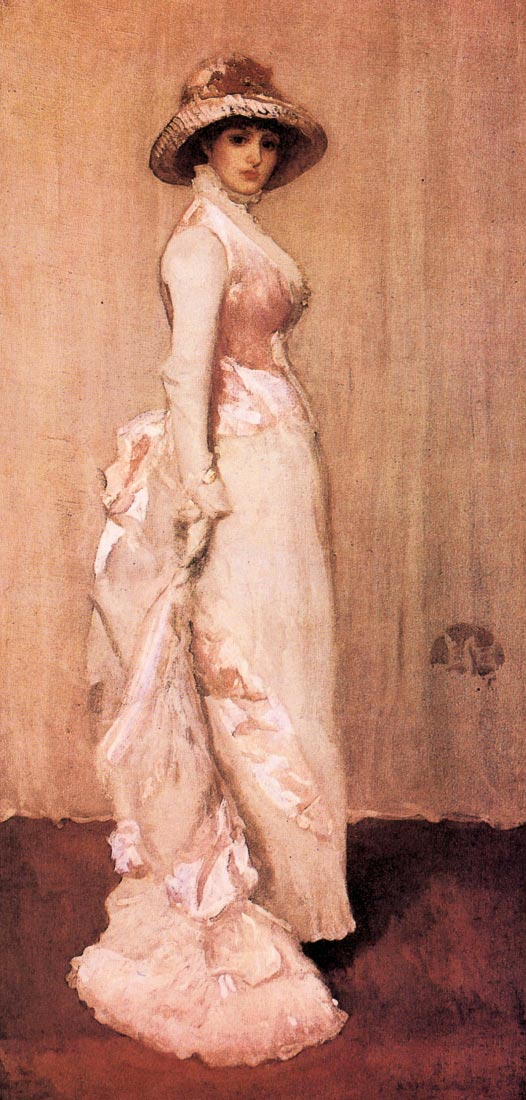 Nocturne in pink and gray, Portrait of Lady Meux - James Abbot McNeill