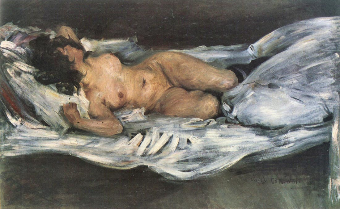 Nude - Lovis Corinth