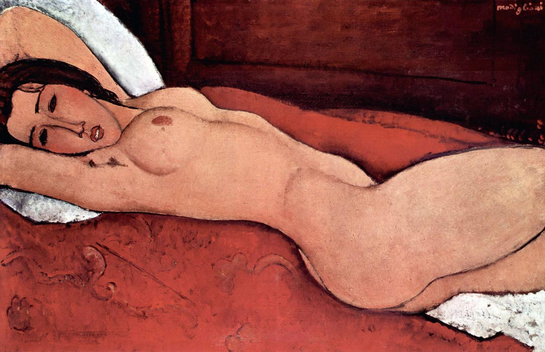 Nude - Modigliani