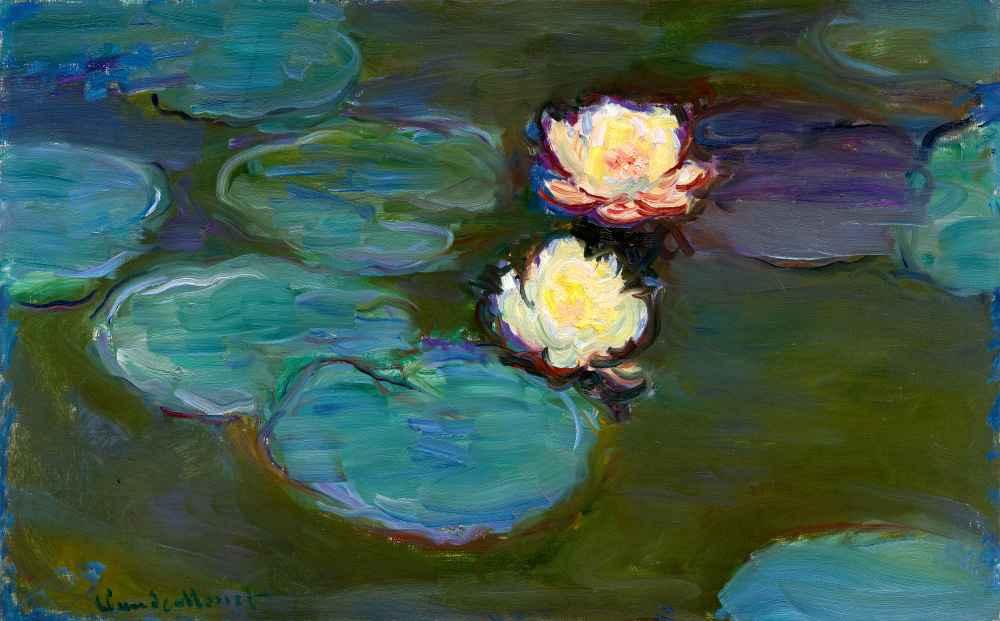 Nympheas 2 - Claude Monet