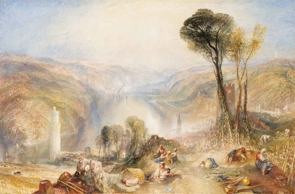 Oberwesel - Joseph Mallord William Turner