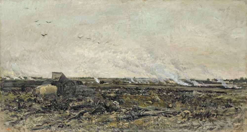 October - Charles-Francois Daubigny