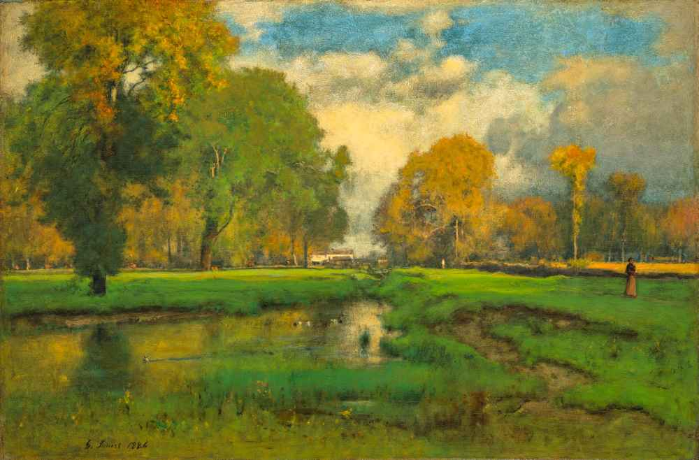 October - George Inness