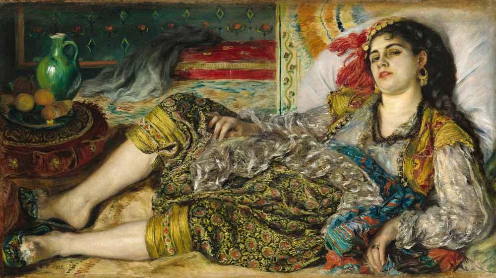 Odalisque - Auguste Renoir