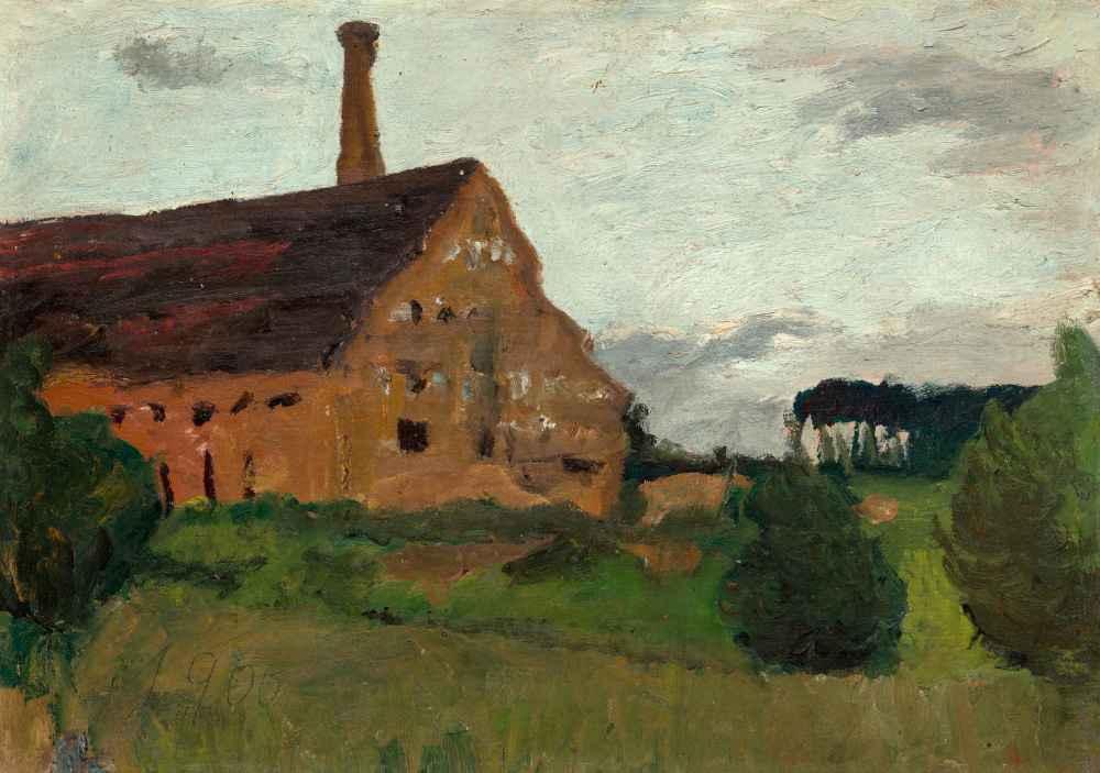 Old Factory - Paula Modersohn-Becker