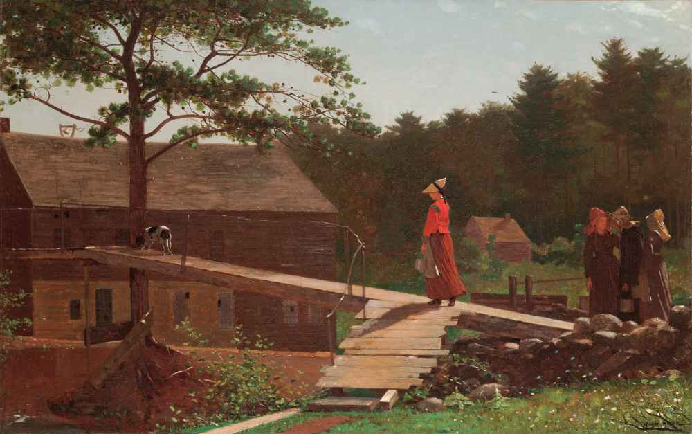 Old Mill (The Morning Bell) - Winslow Homer