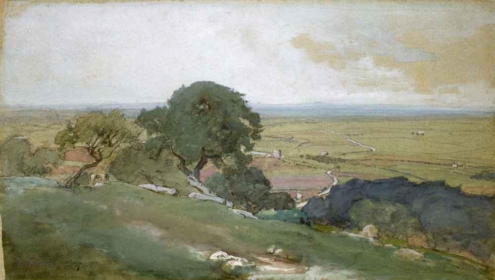 Olive Trees at Tivoli - George Inness