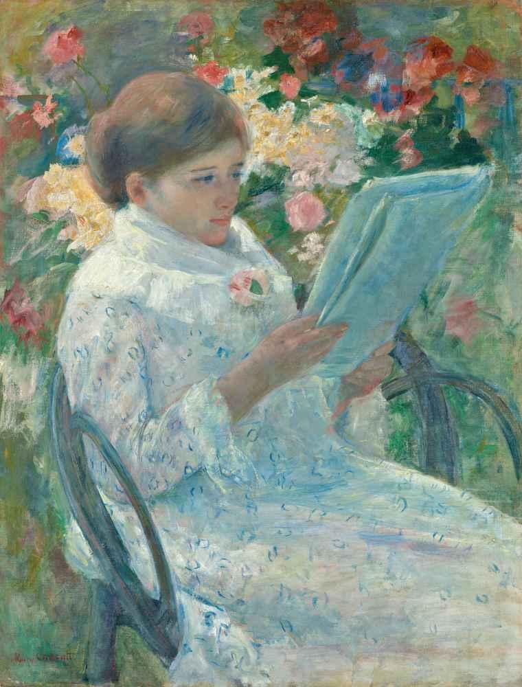 On a Balcony - Mary Cassatt