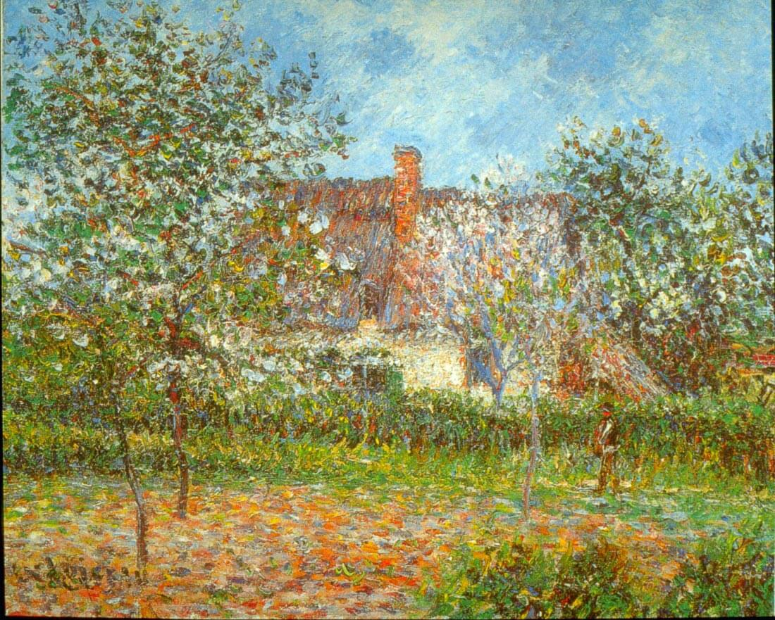 Orchard in Spring - Loiseau