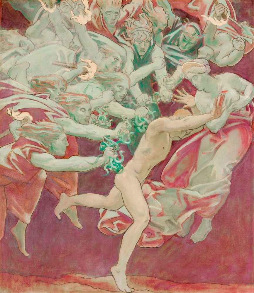 Orestes and the Furies - John Singer Sargent