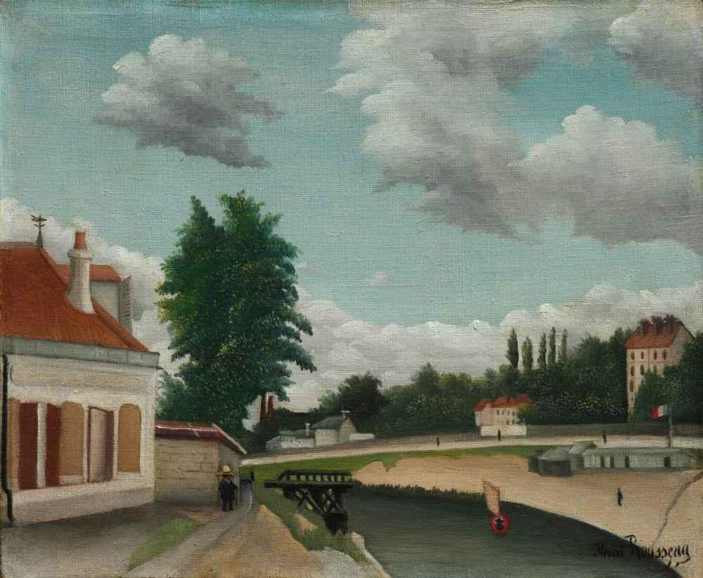 Outskirts of Paris - Henri Rousseau
