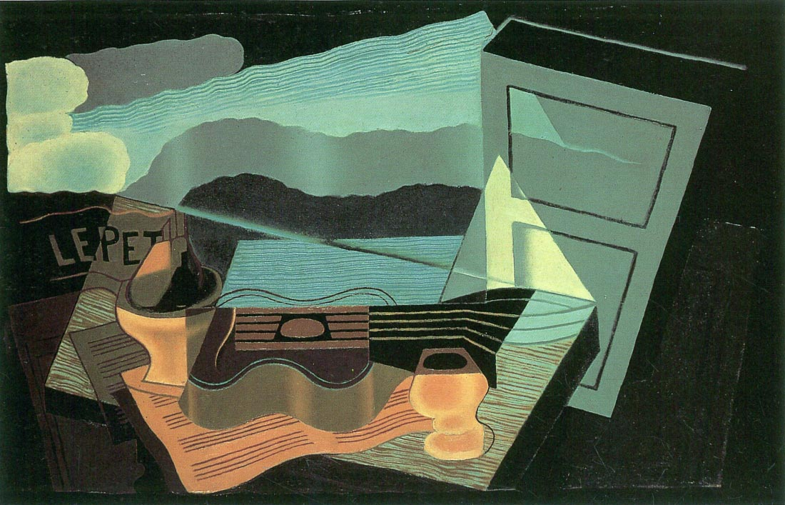 Overlooking the bay - Juan Gris