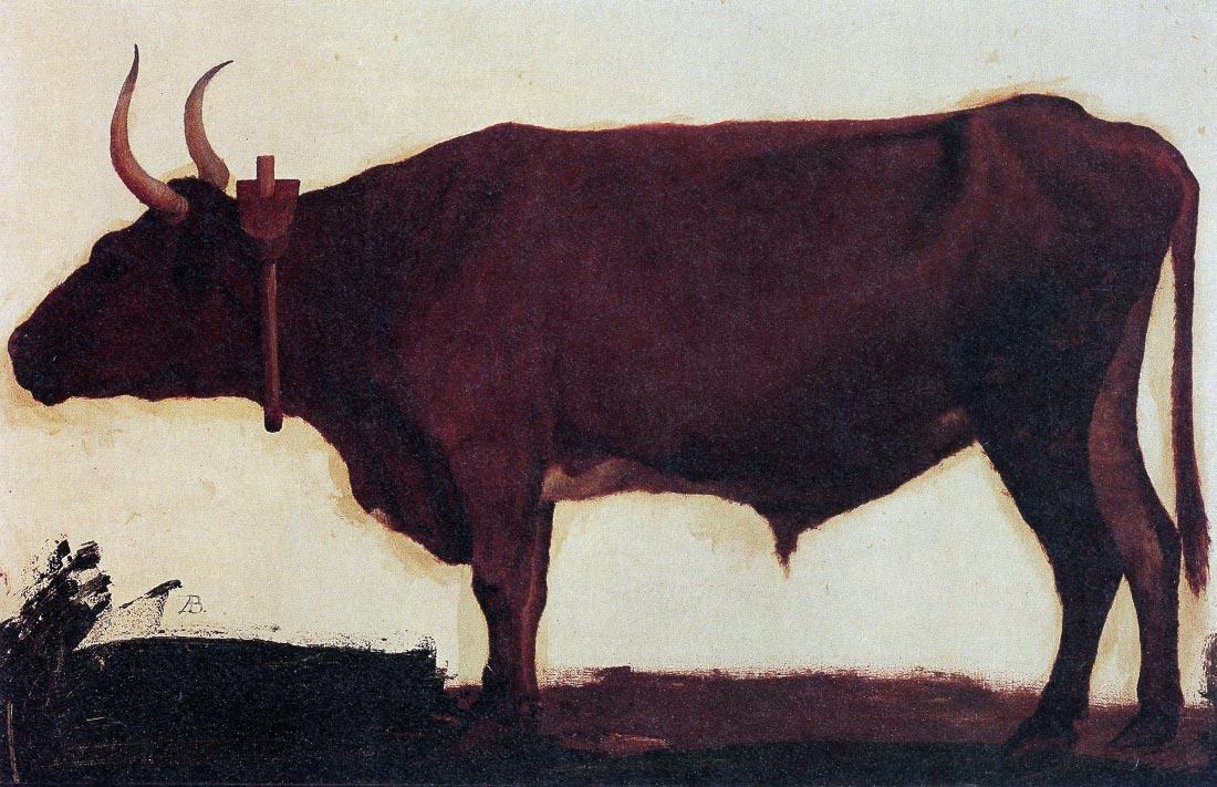 Ox - Bierstadt
