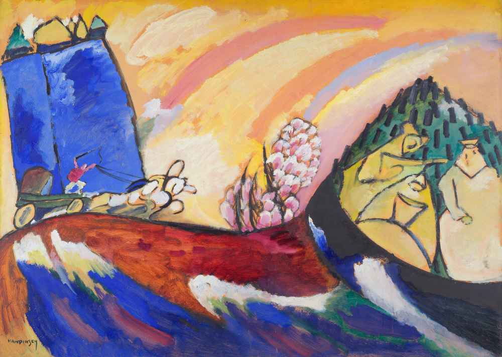 Painting with Troika - Wassily Kandinsky
