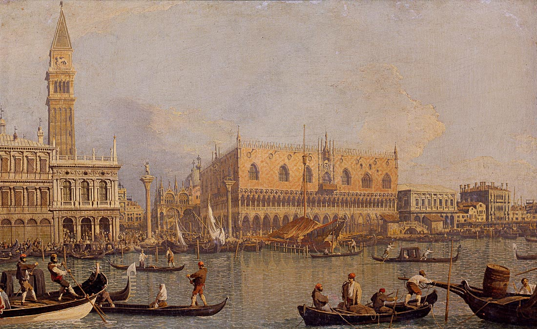 Palazzo Ducale - Canaletto