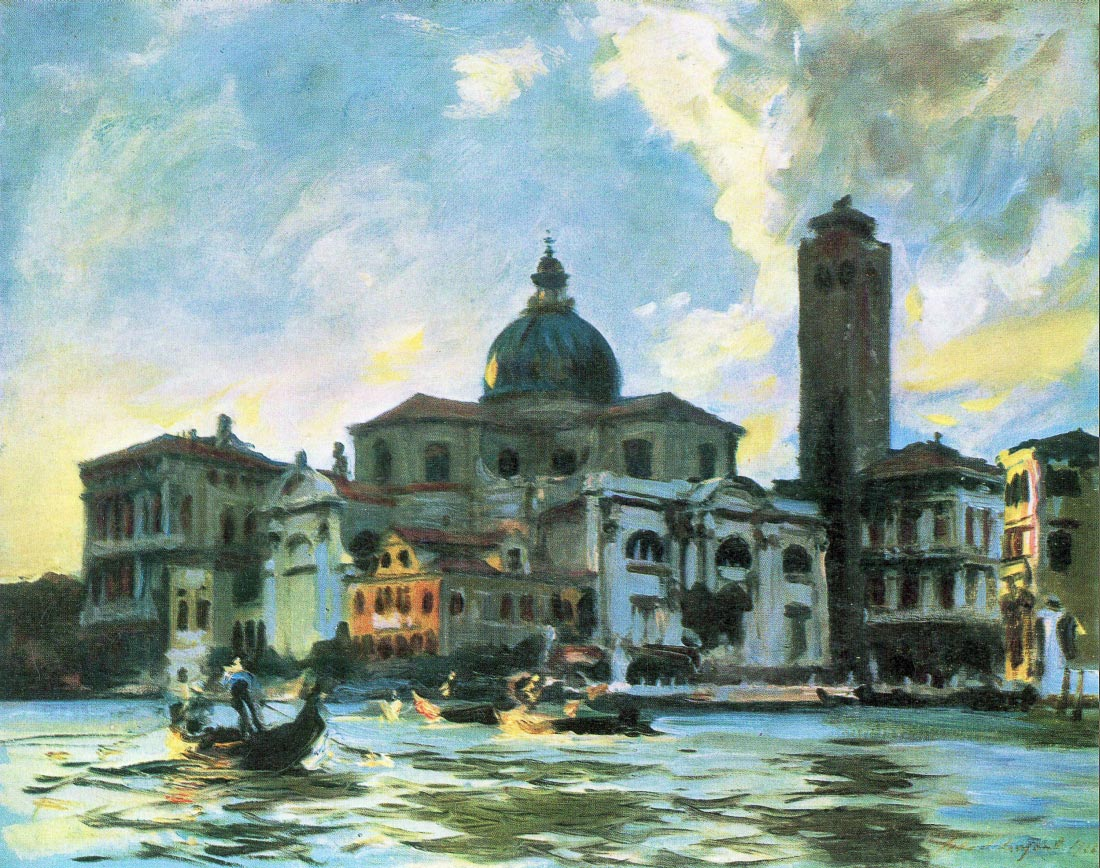 Palazzo Labia, Venice - John Singer Sargent