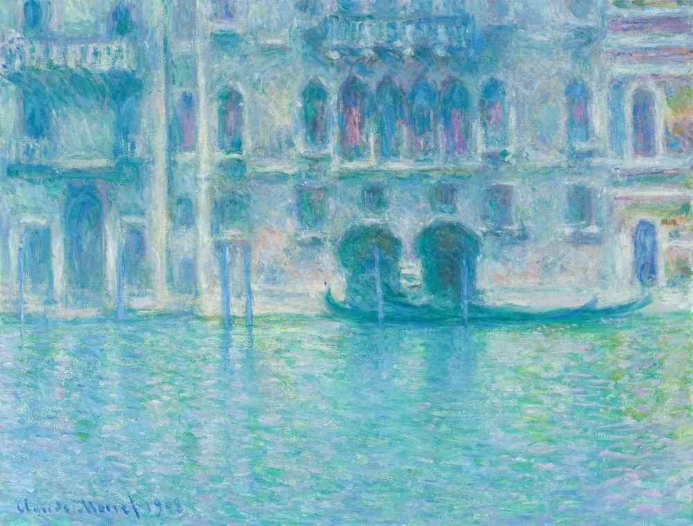 Palazzo da Mula, Venice 2 - Claude Monet