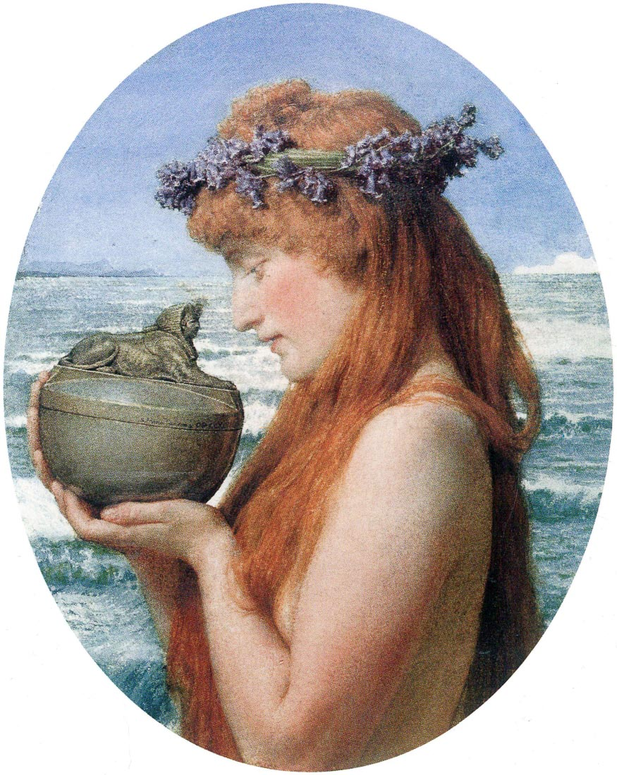 Pandora - Alma-Tadema