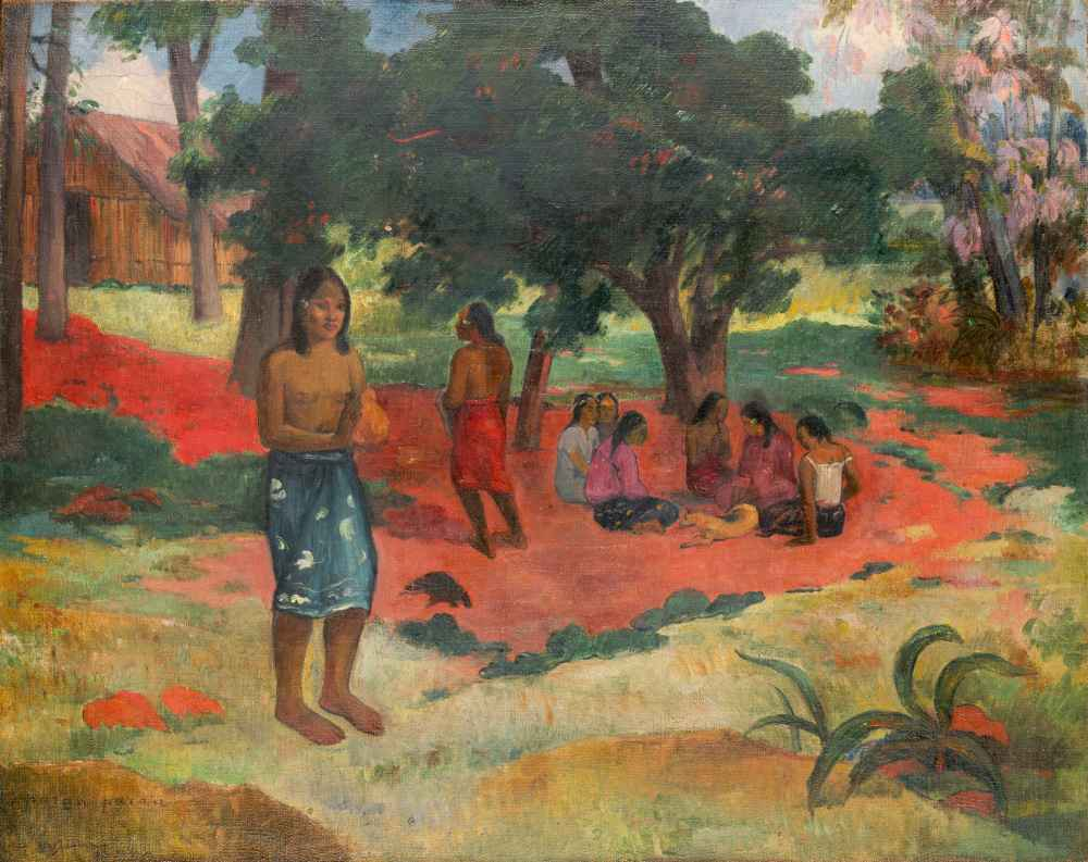 Parau Parau (Whispered Words) - Paul Gauguin