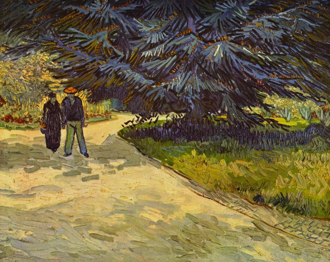 Park Arles - Van Gogh
