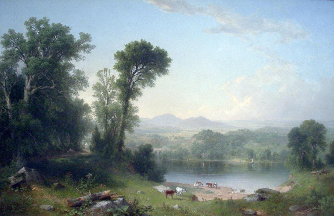 Pastoral Landscape - Asher Brown Durand
