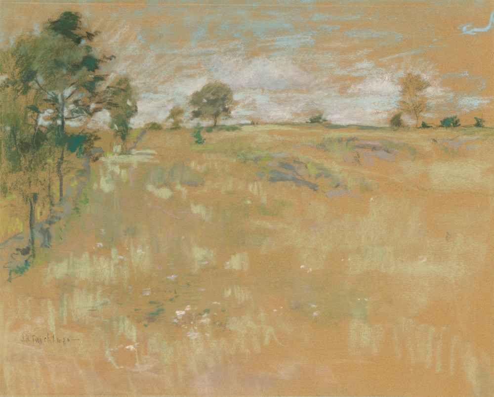 Pastures, Greenwich, Connecticut - John Henry Twachtman