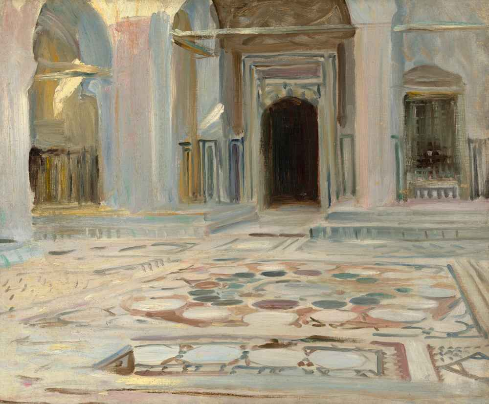 Pavement, Cairo - John Singer Sargent