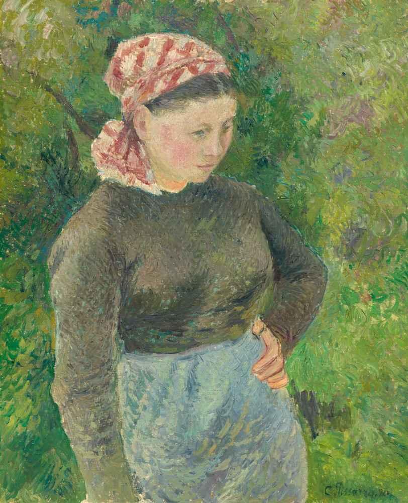 Peasant Woman - Camille Pissarro
